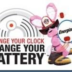 Time to Change the Batteries Energizer Smoke Alarm