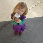 Wordless Wednesday My Coffee Girl