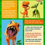 Choo Choo – Dinosaur Train is rolling into 2012 with 5 Terrific T. Rex Teeth Tips