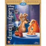 Disney's Lady and the Tramp Diamond Edition Blu-ray DVD & Digital Copy