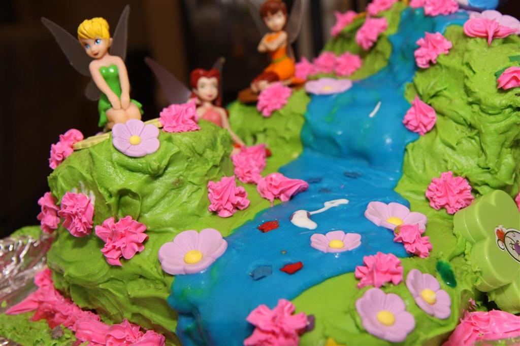 Birthday Cake Designs Tinkerbell