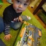 TOMY Dinosaur Train Motorized Arctic Adventure Train Set