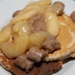 Wake Up To Johnsonville Apple Sausage Pancakes Recipe