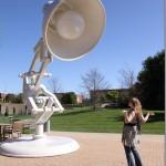Meeting the Pixar Lamp #DisneyPixarEvent
