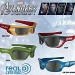 #TheAvengersEvent Limited Edition #Avengers 3D Glasses