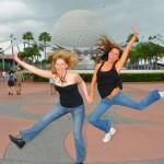 Jumping Through Walt Disney World Without Children