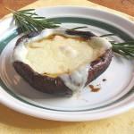 Grilled Portabella Mushrooms with Fontina Melt #NAKANOSplash
