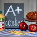 Teacher's Appreciation TreeTop Apple-Dapple Cake Recipe