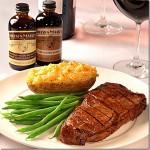Father's Day Steak Kona Rubbed Vanilla Strip Loin Recipe