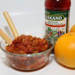 NAKANO Pickled Tomato Garnish Splash it On, Step it Up Recipe #NAKANOSplash