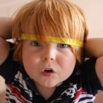 Child Photography: Big Head