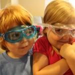 Aqua Sphere Seal Kid Swim Mask/goggles and the Vista Jr. Swim Mask
