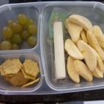 "Bento Box Monday Featuring Trader Joe's ""Savory Thin Mini Edamame Crackers"""