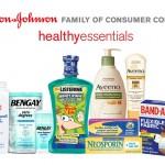 Johnson & Johnson Healthy Essentials Back To School Survival Kit #HealthyEssentials
