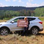 Car Photography: Camp Hyundai SantaFe #NewSantaFe Elevation 8,266
