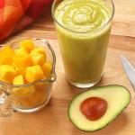 Dairy-Free Mango Avocado Smoothie Recipe