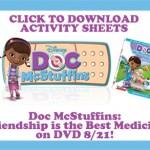 Doc McStuffins Activity Sheets & Clips