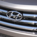 Car Photography: The Hyundai New Santa Fe Grill #NewSantaFe