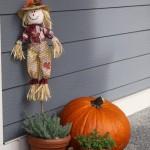 Fall Photography: Pumpkin Porch Decorations