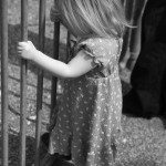 Child Photography: Animal Watching