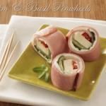 Ham & Basil Pinwheel Recipe
