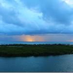 Photography: Caribbean Sunset in the Rain