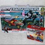 Kre-O Transformers Building Sets Street Showdown & Optimus Prime