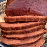 Wine-Glazed Strawberry Ham