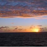 Nature Photography: Cruise Ship Sunset