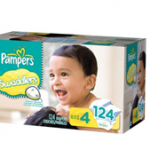 New Pampers Swaddlers Size 4 & 5 and Target Giveaway