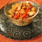 Johnsonville Secret Ingredient Recipe: Chicken Sausage & Rice Stir Fry Recipe