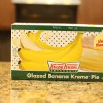 Today is National Banana Cream Pie Day, Enjoy with a Krispy Kreme Banana Kreme Pie #GoingBananas