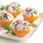 Chicken Salad Served in Oranges Recipe