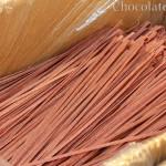 Food Photography: Chocolate Pasta