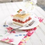 Schwan's Strawberry Rhubarb Cake Recipe