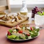 #AD Tyson® Grilled & Ready® Strawberry Chicken Salad Recipe