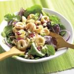 Schwan's Tortellini Salad With Cranberry Feta Greens Recipe