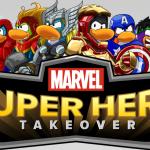 MARVEL Super Hero Takeover Disney's Club Penguin