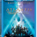 Disney's Atlantis The Lost Empire & Milo's Blu-ray Return Giveaway