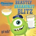 Grow Up Monster Strong: Monsters University Vitamins & Beastly Breakfast Blitz Video Game #MonstersUPremiere