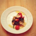 Fava Bean Puree with Garlic, Tomato and Basil #SmartInTheBag