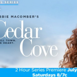 Debbie Macomber's Cedar Cove Hallmark Channel Original Series Giveaway