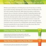 Replenish Renew Repeat Weleda Body Wash