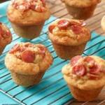 Italian Turkey Pepperoni Mini Muffins Recipe #HormelFamily