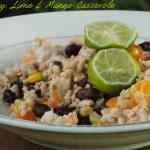 Turkey, Lime & Mango Casserole Recipe + Casserole Kit Twitter Giveaway #CountryCrockCasserole
