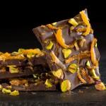 Chocolate Orange Pistachio Bark Recipe