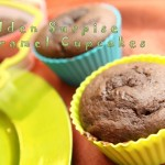 Good Cook Sweet Creations Hidden Surprise Caramel Cupcakes Recipe #goodcookcom, #goodcookkitchenexprt, #sweetcreations
