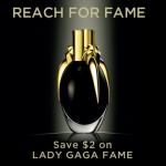 Reach For Fame Lady Gaga Fragrance: Fame & $2 Walmart Coupon #WalmartReachForFame