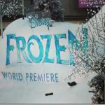 Snow In LA Making a Fabulous White Carpet Frozen Premiere #DisneyFrozenEvent