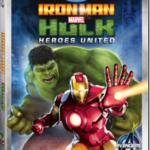 IRON MAN & HULK: HEROES UNITED On Blu-ray & DVD